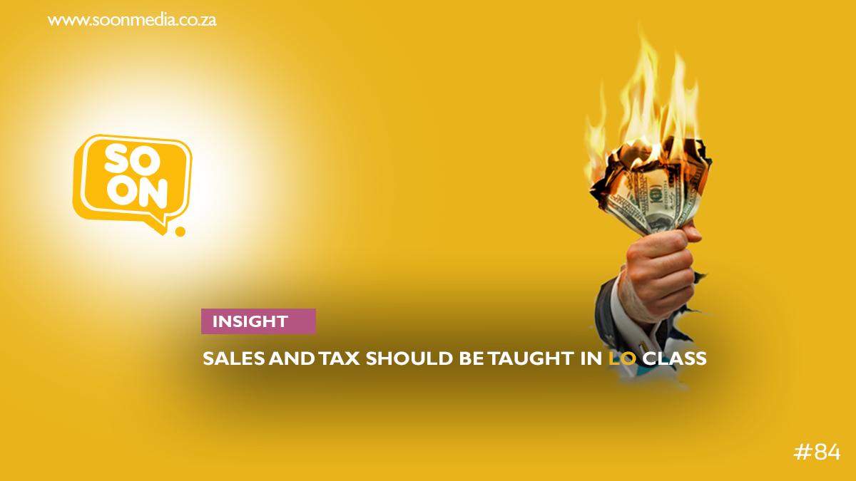 sales and taxes are two most important life skills
